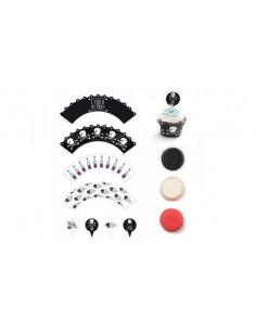 KIT 36PZ PIROTTINI+PICKS+WRAPPER PIRATI