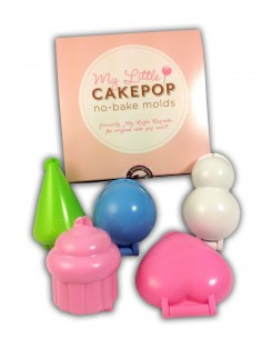Set di 5 stampi per Cake Pops My Little Cupcake Mold