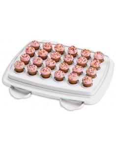 Wilton Scatola Porta Muffin/torta Con Coperchio 3 In 1