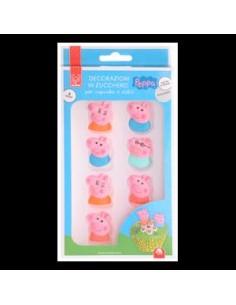8 SOGGETTI IN ZUCCHERO PEPPA PIG