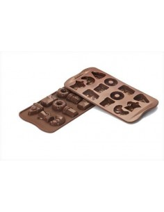 STAMPO IN SILICONE CIOCCOLATO CHOCO GOOD MORNING SILIKOMART