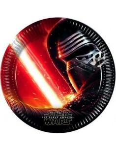 8 Piatti cm 23 Star Wars