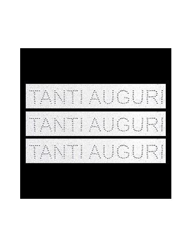 NASTRINO TANTI AUGURI CON STRASS