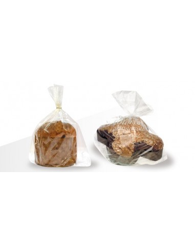20 BUSTE PER PANETTONE PANDORO COLOMBA (1000 GR/ 1500 GR)CANASTA IN POLYPROPYLENE CAST 35 MY 400 X 485