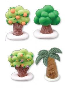 "Alberelli in zucchero e gelatina ""Primavera"""