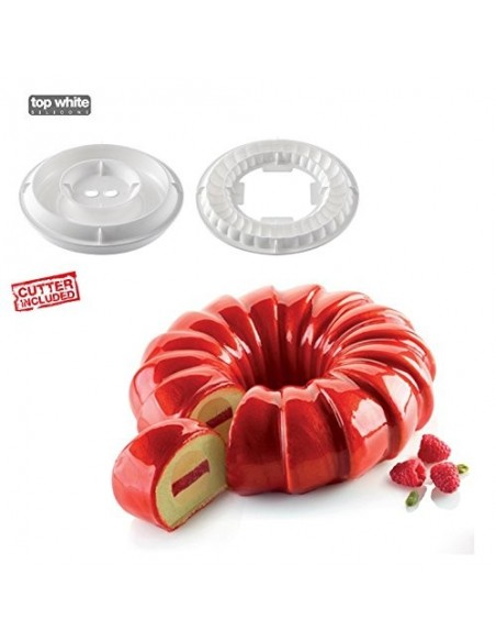 Stampo in silicone KIT RED TAIL di Silikomart Proffessional