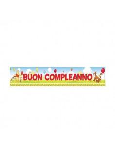 Festone Buon Compleanno Winnie the Pooh