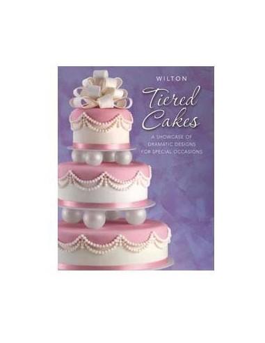 """Libro Wilton  TIERED CAKES """"Torte a Piani"""""""