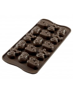STAMPO IN SILICONE CIOCCOLATO CHOCO WINTER SILIKOMART