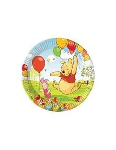 10 Piatti Cm 18 Winnie The Pooh