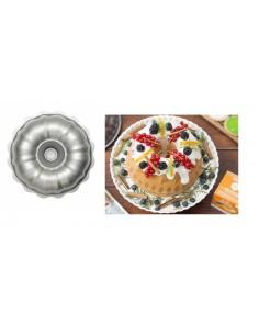 STAMPO CIAMBELLONE PER TORTA BUNDT CAKE ANTIADERENTE DECORA
