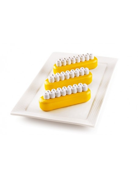 STAMPO IN SILICONE POP ECLAIR SILIKOMART PROFESSIONAL