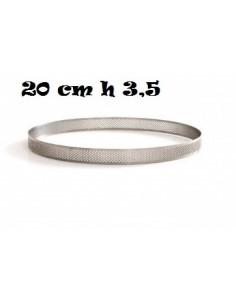 SAGOMA ANELLO MICROFORATA 20 CM H 3,5 CERCHIO