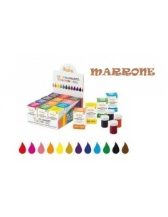COLORANTE DECORA ALIMENTARE DA 28 GR MARRONE