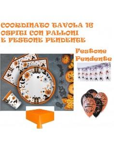 COORDINATO TAVOLA HALLOWEEN...