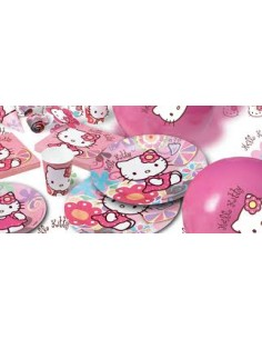 10 Piatti Hello Kitty cm 18