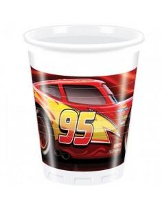 """8 Bicchieri """"Cars"""""""