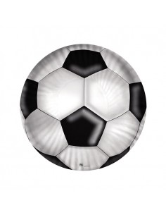 10 Piatti cm 18 Calcio