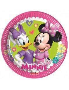 8 Piatti Cm 18 Minnie