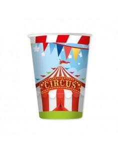 8 Bicchieri 200 cc Circus...