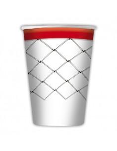 8 Bicchieri 200 cc Basket