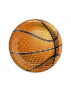 8 Piatti Cm 18 Basket