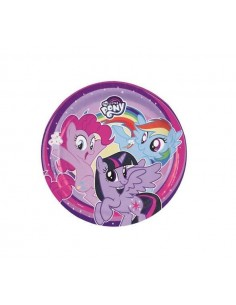 8 Piatti cm 20 My Little Pony