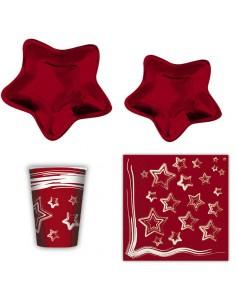 KIT 10 OSPITI RED STAR...