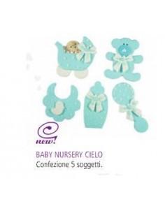 Baby Benvenuto Cielo 5 Pezzi