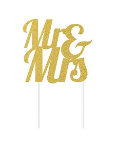 Cake Topper Decorazione Mr...