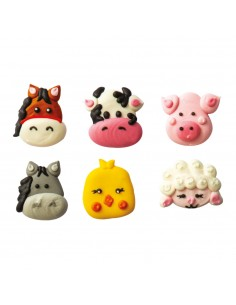 Set 6 Animali della...