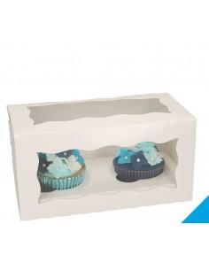 Scatola per 2 Cupcakes con...