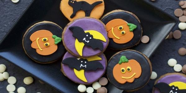 Mostruosi Biscotti Di Halloween al cioccolato!!!