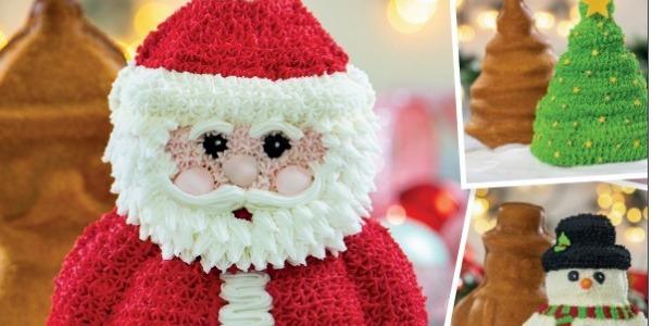 Torta Babbo Natale in 3d
